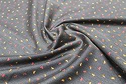 Mirza Fabrics Men's Shirt Fabric(MF002_Grey)