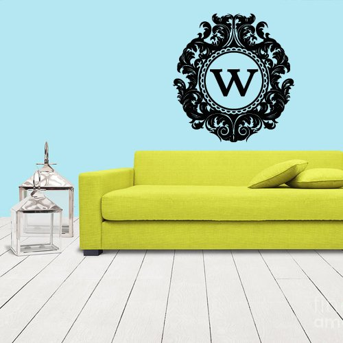 Wall Decals Sticker Bedroom Kids Nursery Baby Custom Name Monogram Personalized Sign (Z1103) front-958320