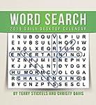 Word Search 2015 Calendar