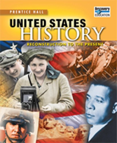 UNITED STATES HISTORY 2010 READING NOTETAKING STUDY GUIDE               RECONSTRUCTIONGRADE 11/12