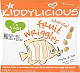 Kiddylicious Tropical Fruit Wriggles 12mth+ (12g)