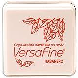 Tsukineko Small-Size VersaFine Instant Dry Pigment Ink, Habanero (Color: Habanero)
