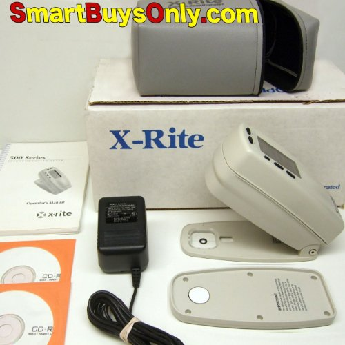 X-rite 518 3.4mm Color Spectrophotometer Densitometer Xrite Excelnt Condition