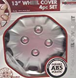 "13"" 4PC WHEEL TRIMS ALLOYS RIMS SET CORROSION RESIS"