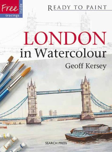 London in Watercolour (Ready to Paint)