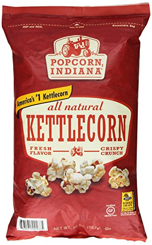 Popcorn Indiana All Natural Kettlecorn, 20 Ounce (Indiana Corn compare prices)