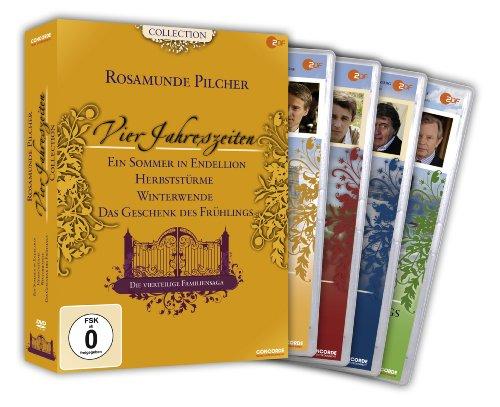 Rosamunde Pilcher: Vier Jahreszeiten, Teil 1-4 [4 DVDs]