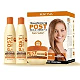 Kativa Tech Kativa Post Relaxer Kit X (Shampoo + Conditioner X 250 Ml 250 Ml + X X 250 Deep Treatment by KATIVA