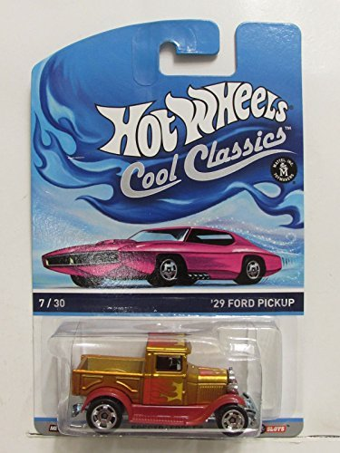 Hot Wheels Cool Classics '29 Ford Pickup Metallic Gold/Red #7/30