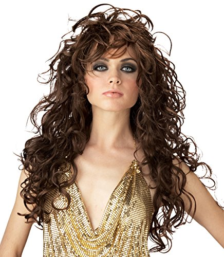 California Costumes Women's Seduction Wig,Brown,One Size - 1