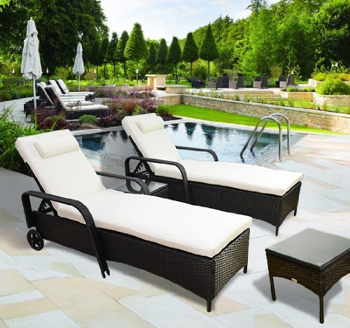 Year-end-Sale-Outsunny-Garden-Rattan-Furniture-3-PC-Sun-Lounger-Recliner-Bed-Chair-Set-with-Side-Table-Patio-Outdoor-Wicker-Adjustable-Head-Height-Black
