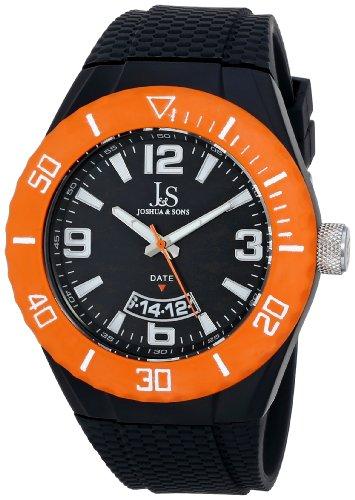 Joshua & Sons Reloj Pantalla analógica cuarzo suizo Marrón para Hombre