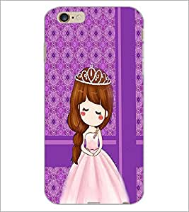 PrintDhaba Cute Doll D-2784 Back Case Cover for APPLE IPHONE 6 (Multi-Coloured)