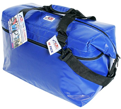 Ao Coolers Royal Blue 48-Pack Soft-Sided Fishing Cooler front-905307