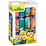 Pack of 12 Minions Christmas Crackers