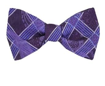 Purple - Sky Self-Tie Pattern Bow Tie at Amazon Men's ... - photo#33