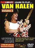 Learn to Play Van Halen Vol. 2 (2 Dvd) [Import anglais]