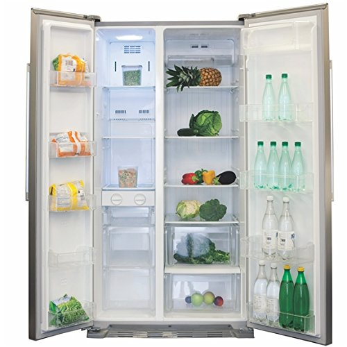 963cea90b73 The Best Place To Buy CDA PC50SS American Style Frost Free Side by Side  Fridge Freezer in Silver A+ Online