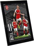 Arsenal F.C. アーセナル F.C. グラス プレイヤー プロフィール エジル 8 x 6 / ポスター