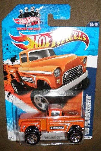 2011 HOT WHEELS HW PERFORMANCE '11 10/10 ORANGE '56 FLASHSIDER 4X4 140/244
