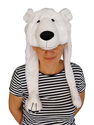 Fantasy World Women's F54 Polar Bear Hat One Size