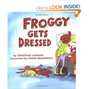 Froggy Goes to School: Jonathan London,.