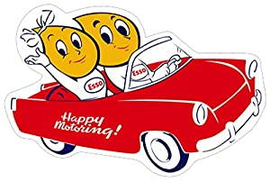 Esso happy motoring car satin style garage for Garage happy car