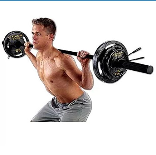 Gold's Gym Olympic Weight Set, 110 lbs (Bench Pressing Set compare prices)