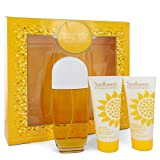 Sunflöwers Perfume For Women Gift Set - 3.3 oz Eau De Toilette Spray + 3.3 Body Lotion + 3.3 oz Body Cream
