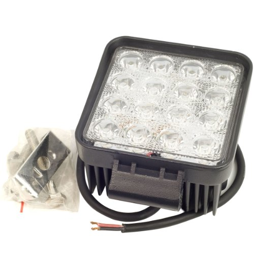 Xcsource® 48W Offroad Driving Led Work Spot Light Truck Jeep Atv Suv 10-30V 2900 Lumen Waterproof Ld207A
