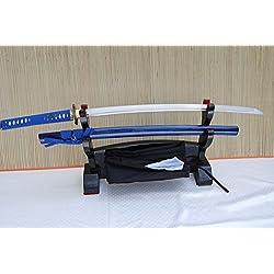 Gefaltetes Damaszener Samurai Schwert Katana Imori