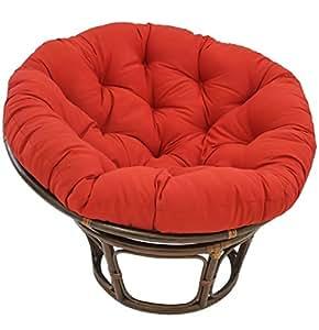 Blazing Needles Solid Twill Papasan Chair Cushion 52 X 6 Q