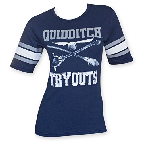 Harry Potter Quidditch Tryouts Juniors Hockey T-Shirt