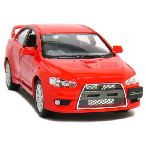 "5"" 2008 Mitsubishi Lancer Evolution X 1:36 Scale (Red)"