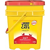 Tidy Cats Cat Litter, Clumping, 24/7 Performance, 27-Pound...
