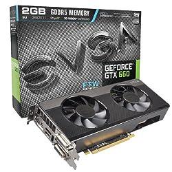 EVGA GeForce GTX 660 SIGNATURE2 2048MB GDDR5 DVI mHDMI DP Graphics Card 02G-P4-2663-KR