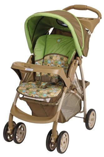 Graco LiteRider Stroller Zooland Feature Accepts All Infant Car Seats