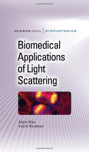 Biomedical Applications of Light Scattering (Biophotonics Series)