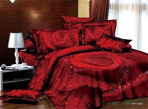 Red Rose Bedding front-1076562