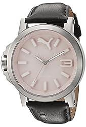 Puma Women PU103462010 Ultrasize LDS Pink Leather Watch
