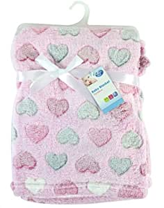 "Amazon.com : ""First Steps"" Luxury Soft Fleece Baby Blanket in Cute"