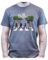 The Doctors Matt Smith David Tennant Who Abbey Road T-shirt