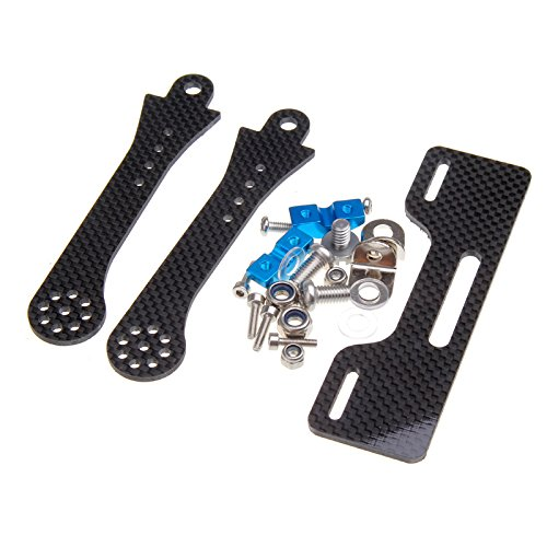Kkmoon 7-8 Inch Fpv Lcd Monitor Mount Bracket To Futaba/Jr/Wfly Transmitter With Metal Bar