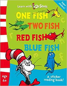 One fish two fish red fish blue fish dr seuss for Blue fish book