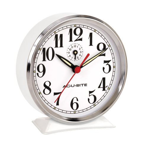 Chaney Instruments Analog Alarm Clock