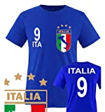 EM 2016 - ITALIEN - WUNSCHNAME u. NUMMER - Herren T-Shirt