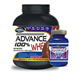 Advance 100% Whey Protein 1kg Chocolate & Advance Arginine 200mg Combo Offers