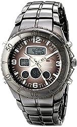 U.S. Polo Assn. Sport Men's US8139 Gunmetal-Tone Watch