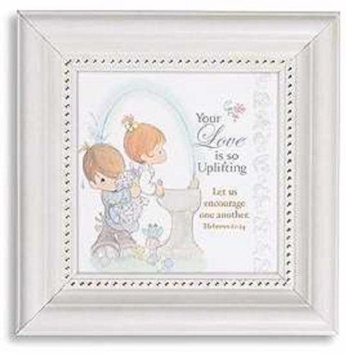 Framed Art Tabletop Precious Moments - Your Love is so Uplifting