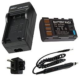 Battery + Charger for JVC BN-VF808, BN-VF808U, BN-VF808US and JVC Everio GZ-MS100RU, GZ-MS100RUS, GZ-MS120AU, GZ-MS120BU, GZ-MS120RU, GZ-MS130BU, GZ-MS130BUS, GZ-MG130U, GZ-MG330AU, GZ-MG330HU, GZ-MG330RU, GZ-MG360BU, GZ-MG365BU, GZ-MG630AU, GZ-MG630RU, G